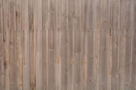 Old gray wooden fence Stock Photo