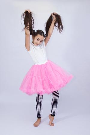 beautiful teen girl Banco de Imagens