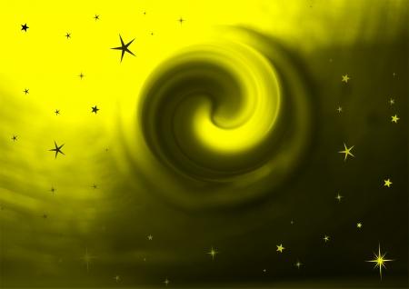 background stars yellow