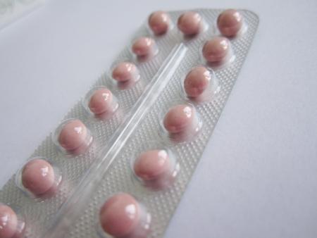 contraceptive pill Stock Photo