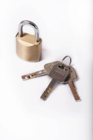 iron defense: Lock and key, used to treat or store  To secure valuables