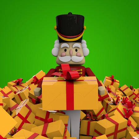 the nutcracker: Christmas Presents Stock Photo