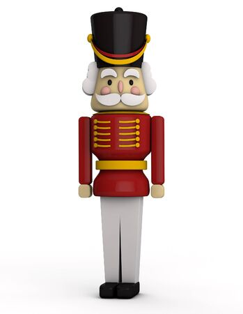 toy soldier: Nutcracker Soldier Stock Photo