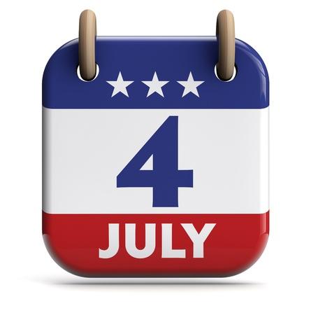 calendario julio: D?a de la Independencia