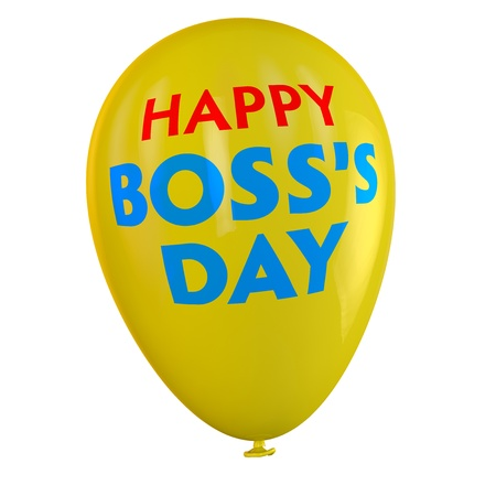Happy Boss Standard-Bild