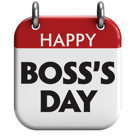 calendar day: Happy Bosss Day