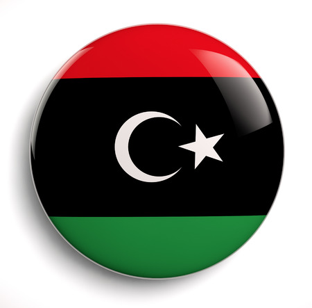 Libya flag icon   photo