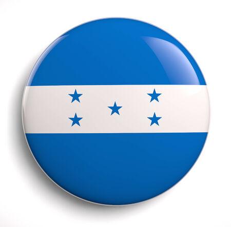 bandera honduras: Honduras icono del diseño de la bandera. Foto de archivo