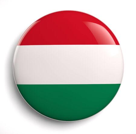 Icono De La Bandera De Hungría. Aseguramiento Camino. Fotos, Retratos,  Imágenes Y Fotografía De Archivo Libres De Derecho. Image 25914805.