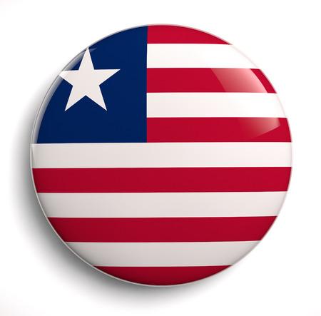 liberia: Libeia flag icon.