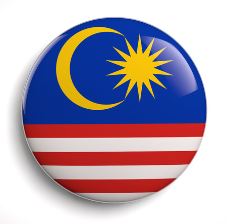 Malaysia flag icon.  photo
