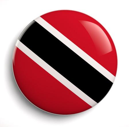 trinidadian: Trinidad flag icon.  Stock Photo