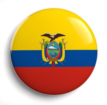 ecuador: Ecuador flag design icon.