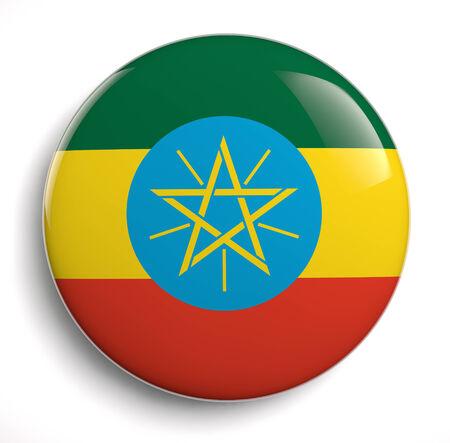 ethiopia flag: Ethiopia flag icon.