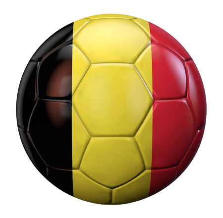 belgium flag: Belgian flag football.