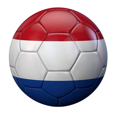 drapeau hollande: Hollande balle drapeau de football.