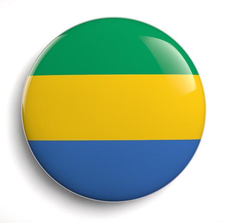 gabon: Gabon flag icon.