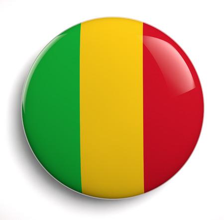 mali: Mali flag icon.