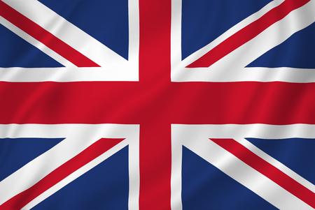 bandera inglaterra: Textura fondo de la bandera nacional británica. Foto de archivo