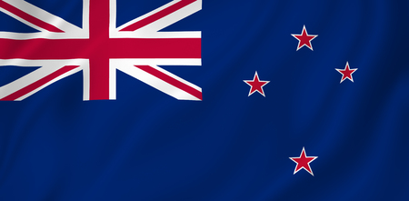 New Zealand flag background texture. photo