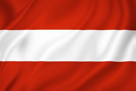 Austria national flag background texture. photo