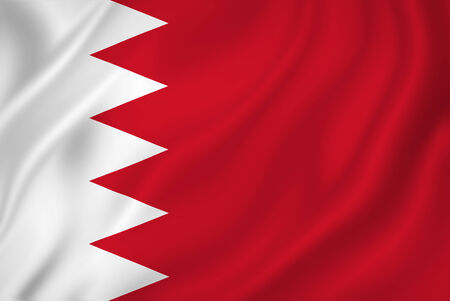 Bahrain national flag background texture. photo