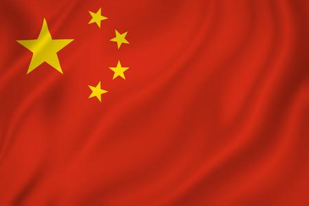 Chinese nationale vlag achtergrond textuur.