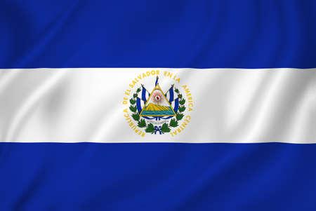 bandera de el salvador: Textura de fondo la bandera nacional El Salvador.