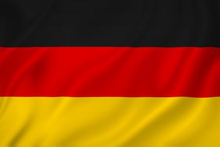 Duitsland nationale vlag als achtergrond.