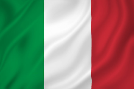 Italy national flag background texture. Stock Photo