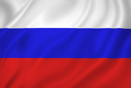 Russia national flag background texture. Banque d'images