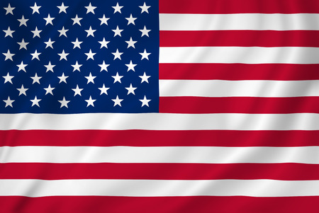 USA American flag background texture.