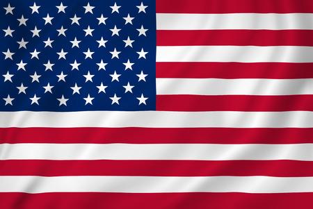 USA Amerikaanse vlag als achtergrond.
