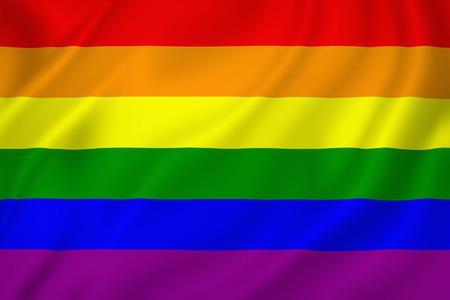 bandera gay: Orgullo gay bandera textura de fondo Foto de archivo