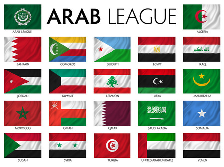middle east: Arab League Arab member countries