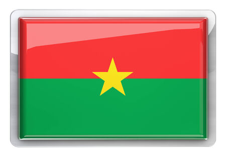 burkina faso: Burkina Faso flag design element.