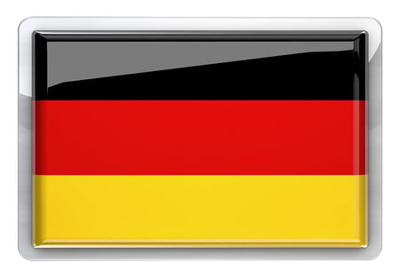 Germany flag icon design element. photo