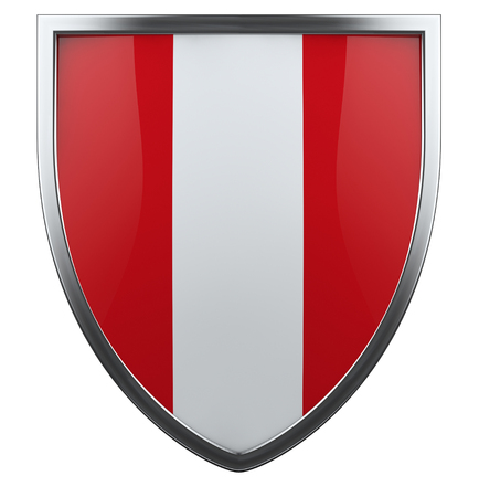 Peru national flag design element. photo
