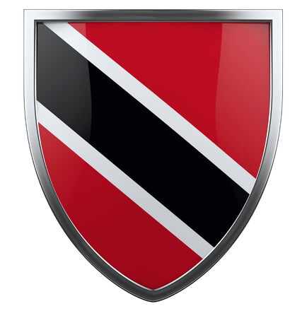 trinidadian: Trinidad and tobago flag shield.