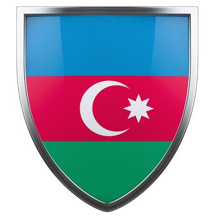 azerbaijan: Azerbaijan national flag design element. Stock Photo