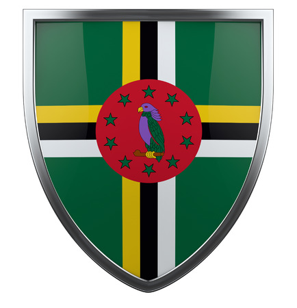 dominica: Dominica national flag design element.