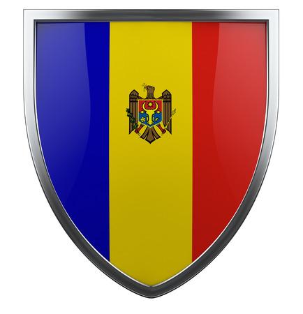 moldova: Moldova national flag design element. Stock Photo