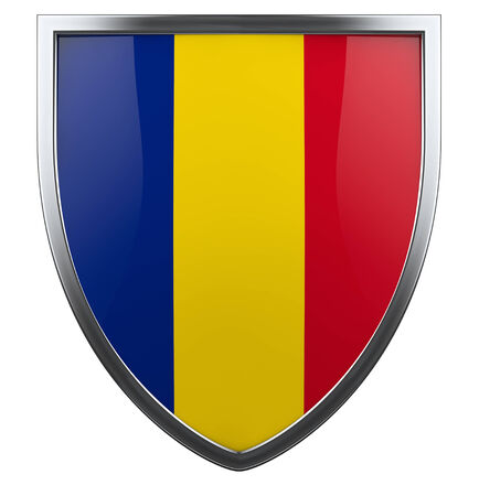Romania national flag design element. photo