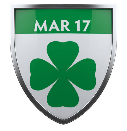 Saint Patrick Day design element. photo