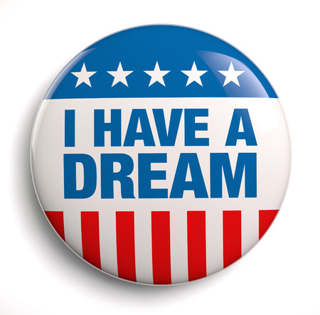 martin luther king: I have a dream patriotic design symbol.