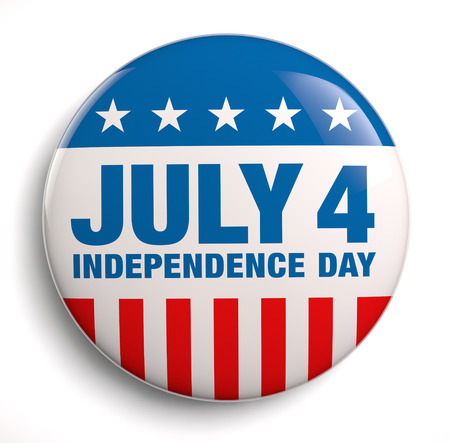 July 4 Independence Day design Stock Photo