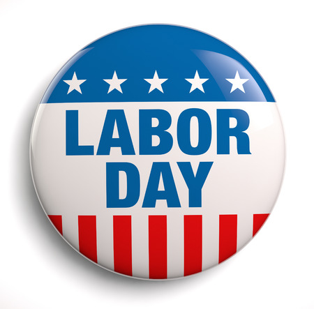 Labor Day USA design icoon. Stockfoto