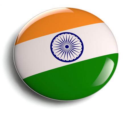 India flag icon design element.