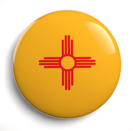 New Mexico state flag icon.