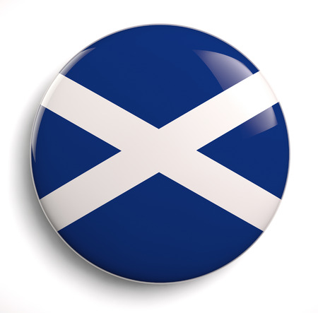 scottish flag: Scotland bandiera isolato magazzino grafico.
